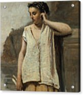The Muse. History Acrylic Print