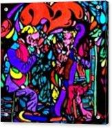 The Musicians Acrylic Print by YoMamaBird Rhonda
