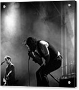 The National Performing At Hyde Park London Acrylic Print