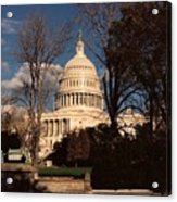 The Nation's Capitol Acrylic Print