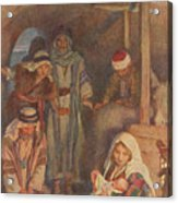 The Nativity Acrylic Print