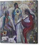 The Nativity Of The Angels Acrylic Print