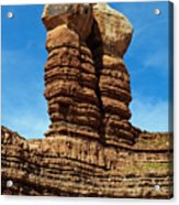 The Navajo Twin Rocks Acrylic Print