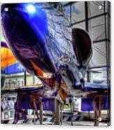 The Navy's Blue Angel Acrylic Print
