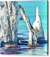 The Needle Of Etretat Acrylic Print