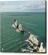 The Needles - Isle Of Wight Acrylic Print