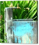 The Neighborhood Water Pipe Acrylic Print