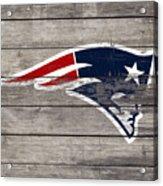 The New England Patriots 3c Acrylic Print