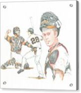 The New Natural Buster Posey Acrylic Print