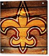 The New Orleans Saints 3b Acrylic Print
