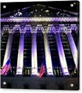 The New York Stock Exchange Acrylic Print