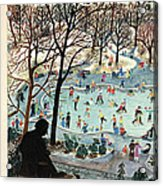 The New Yorker Cover - February 4th, 1961 Acrylic Print