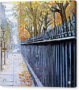 Autumn In New York Acrylic Print