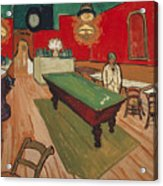 The Night Cafe In Arles Acrylic Print