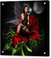 The Night Fairy Acrylic Print
