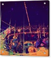The Nightmare Carousel 22 Acrylic Print