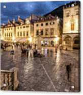 The Nights Of Dubrovnik Acrylic Print