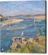 The Nile Near Aswan Acrylic Print