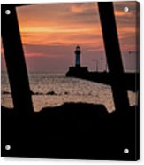 The North Pier Lighthouse Acrylic Print
