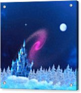 The North Pole Acrylic Print by Corey Ford