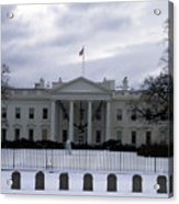 The North View Of The White House Acrylic Print