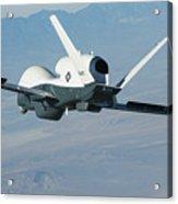 The Northrop Grumman-built Triton Unmanned Aircraft System Acrylic Print