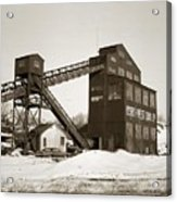 The Northwest Coal Company Breaker Eynon Pennsylvania 1971 Acrylic Print