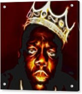 The Notorious B.i.g. - Biggie Smalls Acrylic Print