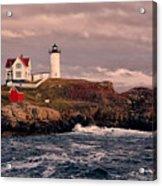The Nubble Lighthouse  Acrylic Print