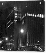 The Ny Daily News Building Acrylic Print