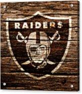 The Oakland Raiders 1e Acrylic Print