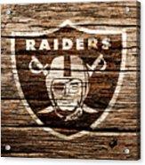 The Oakland Raiders 1f Acrylic Print