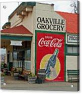 The Oakville Grocery Acrylic Print