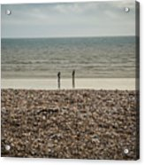 The Ocean Can Make You Feel Small, Bognor Regis, Uk. Acrylic Print