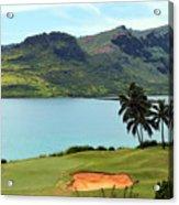 The Ocean Course At Hokuala In Kauai Acrylic Print