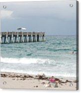 The Ocean Pier Acrylic Print