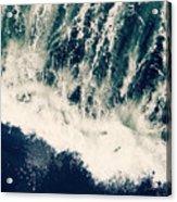 The Ocean Roars Acrylic Print