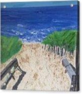 The Ocean View Acrylic Print