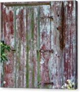 The Old Barn Door Acrylic Print