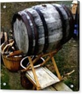 The Old Beer Barrel Acrylic Print