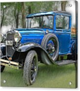The Old Blue One 2 Acrylic Print