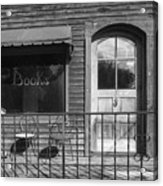 The Old Book Store Acrylic Print