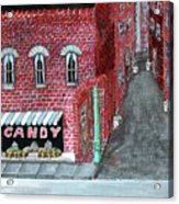 The Old Brick Candy Store Acrylic Print