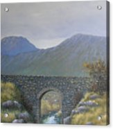 The Old Bridge At Connor Pass Acrylic Print