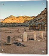 The Old Cemetary Acrylic Print
