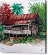 The Old Cocoa House  Acrylic Print