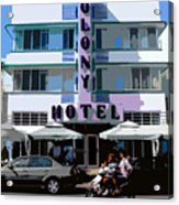 The Old Colony Hotel Acrylic Print
