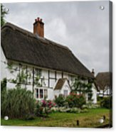 The Old Cottage Micheldever Acrylic Print
