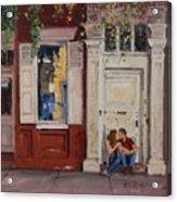 The Old Doorway Acrylic Print