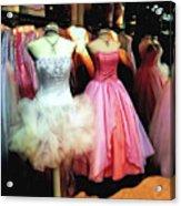 The Old Dress  Shop Acrylic Print